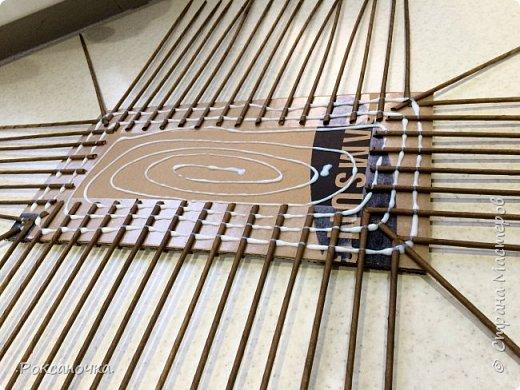 Всем привет. Очередное творение в декрете )))) корзина для полиэтиленовых пакетов.   фото 7