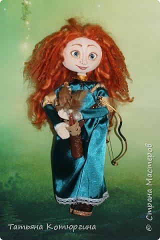 Мерида, принцесса из мультфильма фото 1