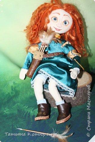 Мерида, принцесса из мультфильма фото 7