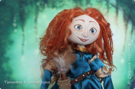 Мерида, принцесса из мультфильма фото 4