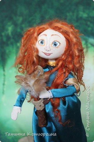 Мерида, принцесса из мультфильма фото 2