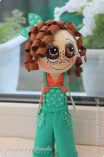 Еще не немножко куколок из фоамирана!!! фото 1