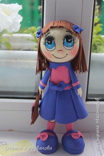 Еще не немножко куколок из фоамирана!!! фото 3