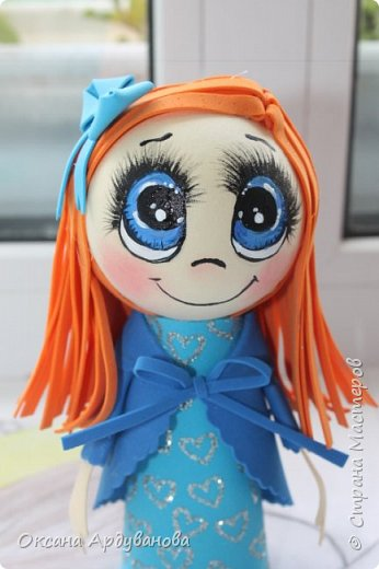 Еще не немножко куколок из фоамирана!!! фото 7
