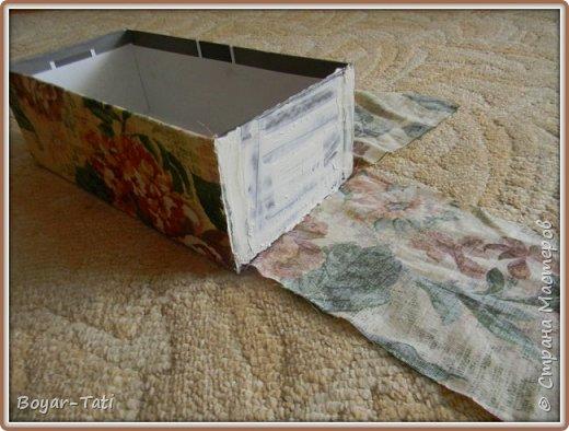 Моя первая коробочка)И небольшой мастер-класс. фото 4