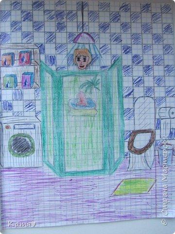 Это вход в квартиру моей куклы, справа от двери весит звонок. фото 11