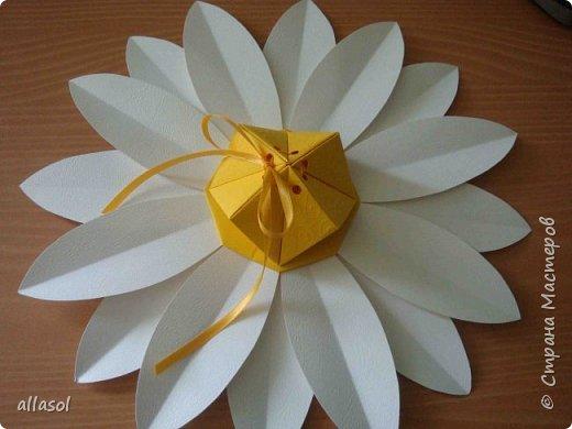 Клубнички делала по всем известной выкройке http://www.stranamam.ru/post/7574722 Листочки  оригами (как третий ряд цвета http://stranamasterov.ru/node/95830 ) Внутри конфетка фото 4