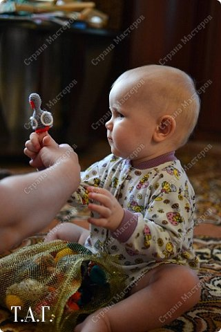 Связала петушка для внука. фото 12