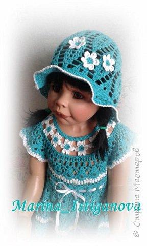 """Платье """"Цветочная феечка"""" в моем исполнении фото 5"""