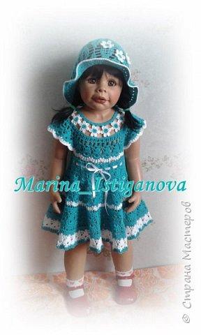 """Платье """"Цветочная феечка"""" в моем исполнении фото 2"""