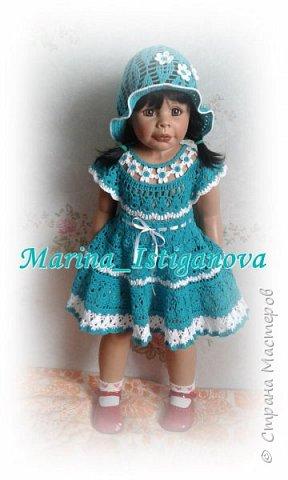 """Платье """"Цветочная феечка"""" в моем исполнении фото 3"""