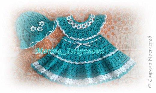 """Платье """"Цветочная феечка"""" в моем исполнении фото 6"""
