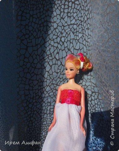 """Всем привет! Представляю свою работу на конкурс """"Мисс Июль"""". Появилось у меня настроение шить-и вот результат! Получился довольно симпатичный сарафан. Верх вязаный, а низ из легкой ткани. У кого-то в СМ я уже видела подобное, очень понравилась идея и я решила ее воплотить! Дальше просто немного фото... фото 4"""
