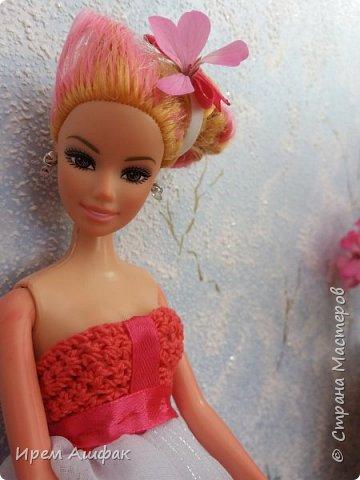 """Всем привет! Представляю свою работу на конкурс """"Мисс Июль"""". Появилось у меня настроение шить-и вот результат! Получился довольно симпатичный сарафан. Верх вязаный, а низ из легкой ткани. У кого-то в СМ я уже видела подобное, очень понравилась идея и я решила ее воплотить! Дальше просто немного фото... фото 6"""