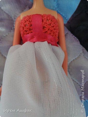 """Всем привет! Представляю свою работу на конкурс """"Мисс Июль"""". Появилось у меня настроение шить-и вот результат! Получился довольно симпатичный сарафан. Верх вязаный, а низ из легкой ткани. У кого-то в СМ я уже видела подобное, очень понравилась идея и я решила ее воплотить! Дальше просто немного фото... фото 12"""