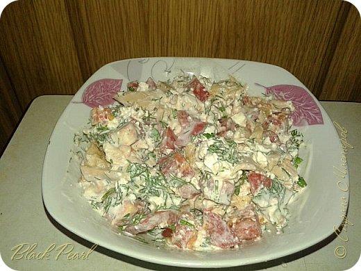 Худеем вкусно) низкокалорийный салатик)