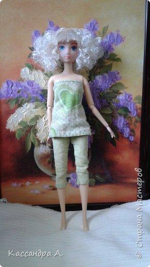 Дорогие друзья, предсставляю вам три комплекта нижнего белья для кукол. Моей моделью будет Даниэлла, прекрасная белокурая нимфа. фото 17