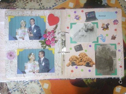 наша обложка сделана из папки-регистратора, ткани и синтепона фото 6