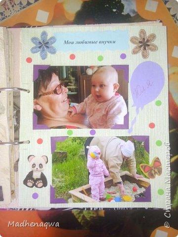 наша обложка сделана из папки-регистратора, ткани и синтепона фото 9