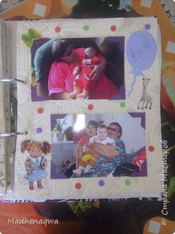 наша обложка сделана из папки-регистратора, ткани и синтепона фото 10