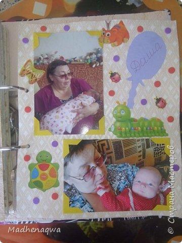 наша обложка сделана из папки-регистратора, ткани и синтепона фото 12