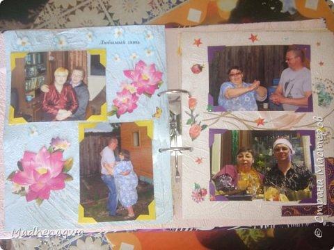 наша обложка сделана из папки-регистратора, ткани и синтепона фото 13