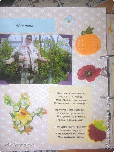 наша обложка сделана из папки-регистратора, ткани и синтепона фото 14