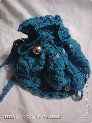 вот такую сумочку связала для племяницы фото 3