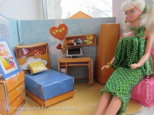 Игра в куклы. Детские работы. фото 1