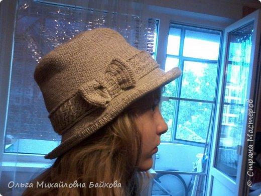 Связала шапочку на заказ.Для Лизы. Ей понравилось. фото 1