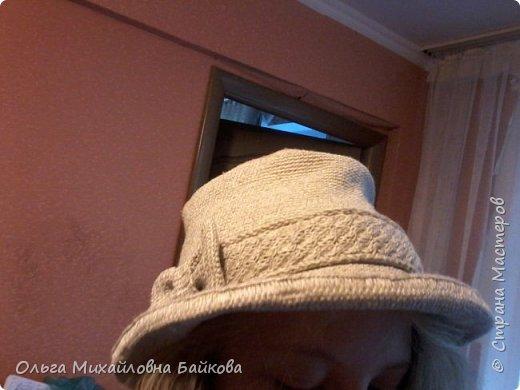 Связала шапочку на заказ.Для Лизы. Ей понравилось. фото 2