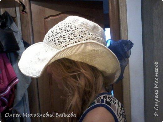 Связала шапочку на заказ.Для Лизы. Ей понравилось. фото 4