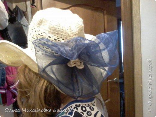 Связала шапочку на заказ.Для Лизы. Ей понравилось. фото 5