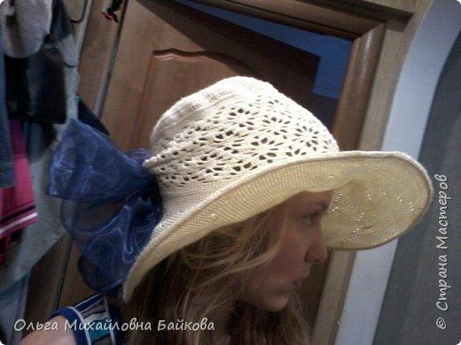 Связала шапочку на заказ.Для Лизы. Ей понравилось. фото 3