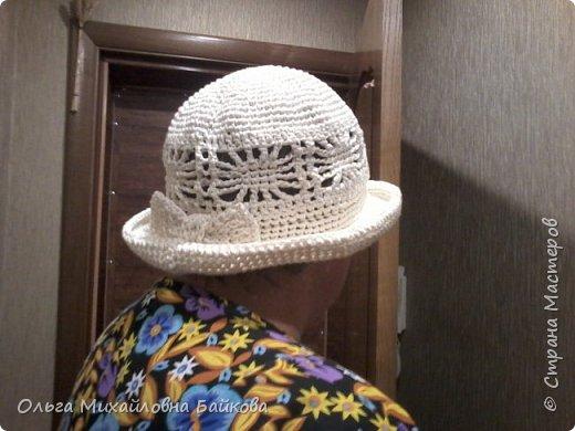 Связала шапочку на заказ.Для Лизы. Ей понравилось. фото 7