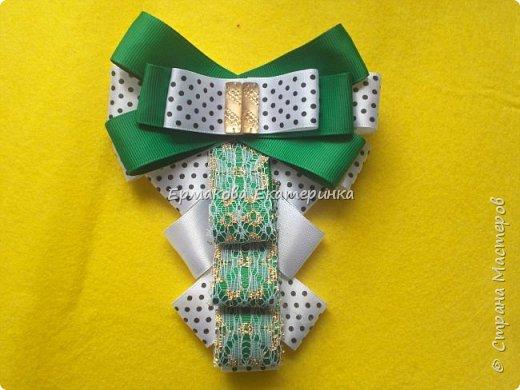 Галстук-жабо.Крепление-брошь или лента.Сделаны из атласа и репсовой ленты. фото 2