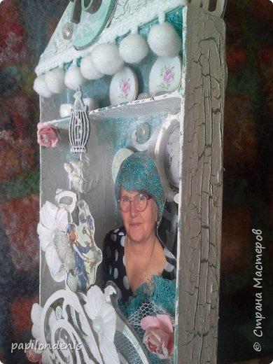 На юбилей маме вместо открытки сделала Shadow box   фото 3