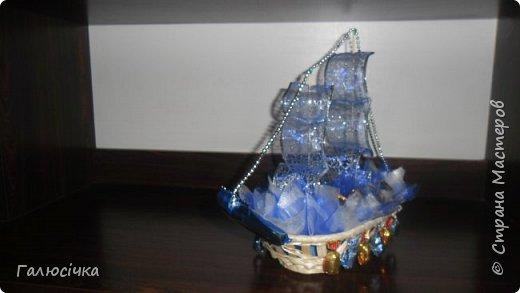 Корабель з цукерок фото 3