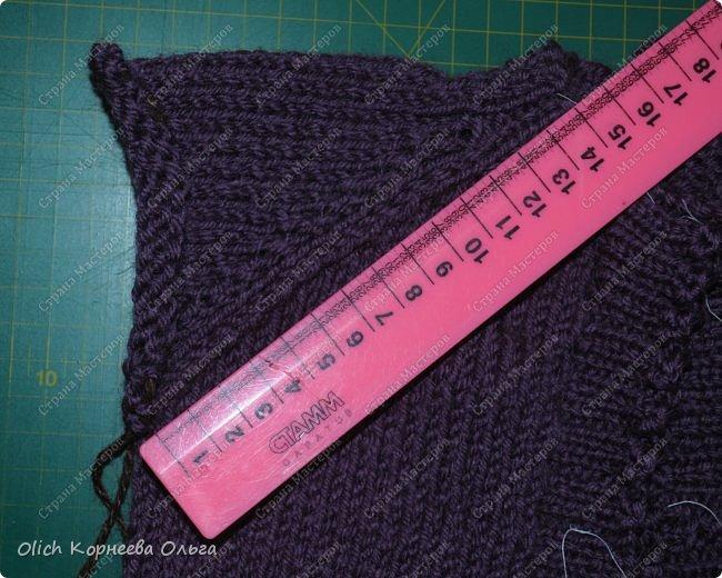 Здравствуйте. Хочу поделиться простым способом вязания штанишек для малыша. Комплект вязала для своего сыночка, на фото ему 5 месяцев. Вязала с небольшим запасом, сейчас жаркое лето, а вот месяца через 2-3 прохладными осенними денечками этот комплект будет очень кстати. фото 23