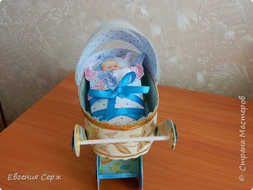Добрый день жители СТРАНЫ!!!Для родителей получился вот такой подарочек с рождением сына! фото 7