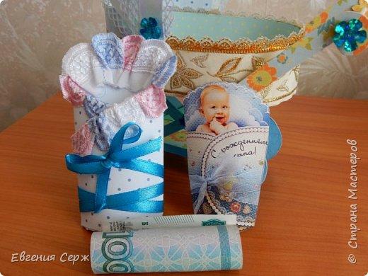 Добрый день жители СТРАНЫ!!!Для родителей получился вот такой подарочек с рождением сына! фото 15