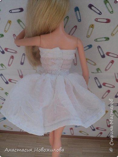 """Привет всем! Меня давно не было, но думаю, что вы этого и не заметили... Сегодня я сдаю работу на конкурс """"Мисс Июль"""". Это моя новая куколка, мне ее подарили на день рождения, зовут ее Саша.  фото 11"""