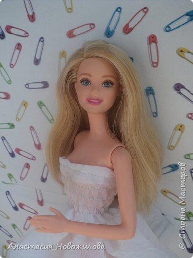 """Привет всем! Меня давно не было, но думаю, что вы этого и не заметили... Сегодня я сдаю работу на конкурс """"Мисс Июль"""". Это моя новая куколка, мне ее подарили на день рождения, зовут ее Саша.  фото 8"""