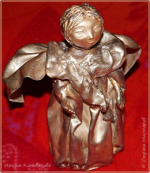 Добрый день, дорогие чудесники. Предложили мне сделать ангела. Вот я и решила попробовать. Представляю вашему суждению то, что у меня получилось. Сделала фото при разном освещении и решила почти все показать. фото 5