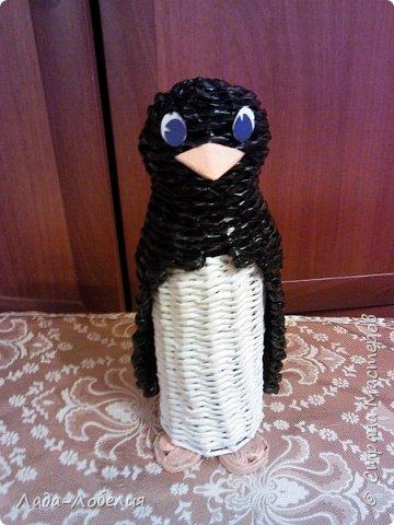 Пингвин-шкатулка.  фото 1