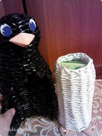 Пингвин-шкатулка.  фото 3