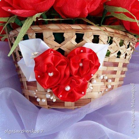 Как всегда у меня корзина....и в ней не меньше 35 конфетных цветочков.... фото 6