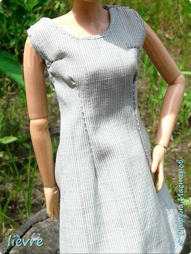 """Всем привет! Сегодня я решила поучавствовать в конкурсе """"Мисс Июль"""" и показать Вам свою работу. Моделью сегодня будет Катерина. Для конкурса я сшила летнее платье. Мне показалось, что для этого образа не обязательна обувь, поэтому сегодня мы будем """"босяком"""". Для начала, прошу меня извинить за качество фотографий. фото 9"""