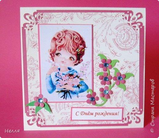 Открытка  для Алисы, которой исполнилось 6 лет фото 1