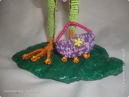 мой лягушатник из бисера на каркасе фото 5